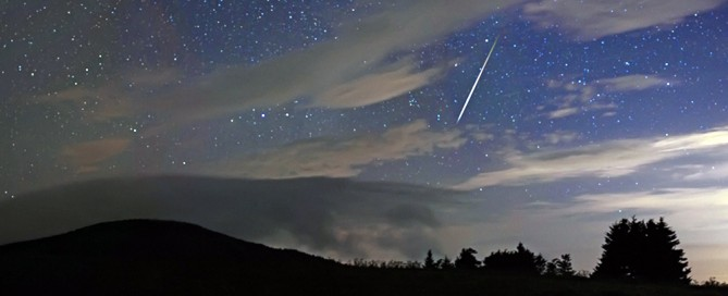 Shooting Star at Roan Mountain